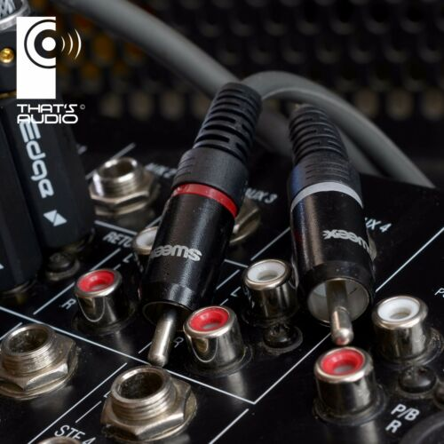 sweex STAGE Cable XLR 3-PIN Male /> 2x PHONO RCA Male Plugs Patch /> SELECT length