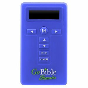 Used-GoBible-Traveler-New-International-Version-NIV-Free-Shipping-blue