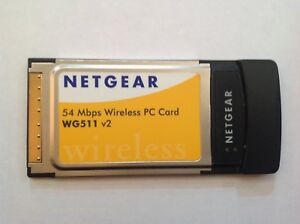 NETGEAR 54MBPS WIRELESS PC CARD WG511 WINDOWS 7 X64 DRIVER DOWNLOAD