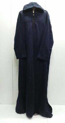 wide fit Men Moroccan winter wool hooded thobe//Djelleba jubba Size 62 /& 64