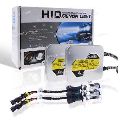 35W 55W HID Xenon Conversion KIT Bulbs Ballasts H1 H7 H4-3 9003 Hi//Lo 5K 6K 8K