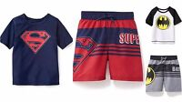 Old Navy Superheroes Rashguard Or Swim Trunk Batman Superman Boys 4t 5t