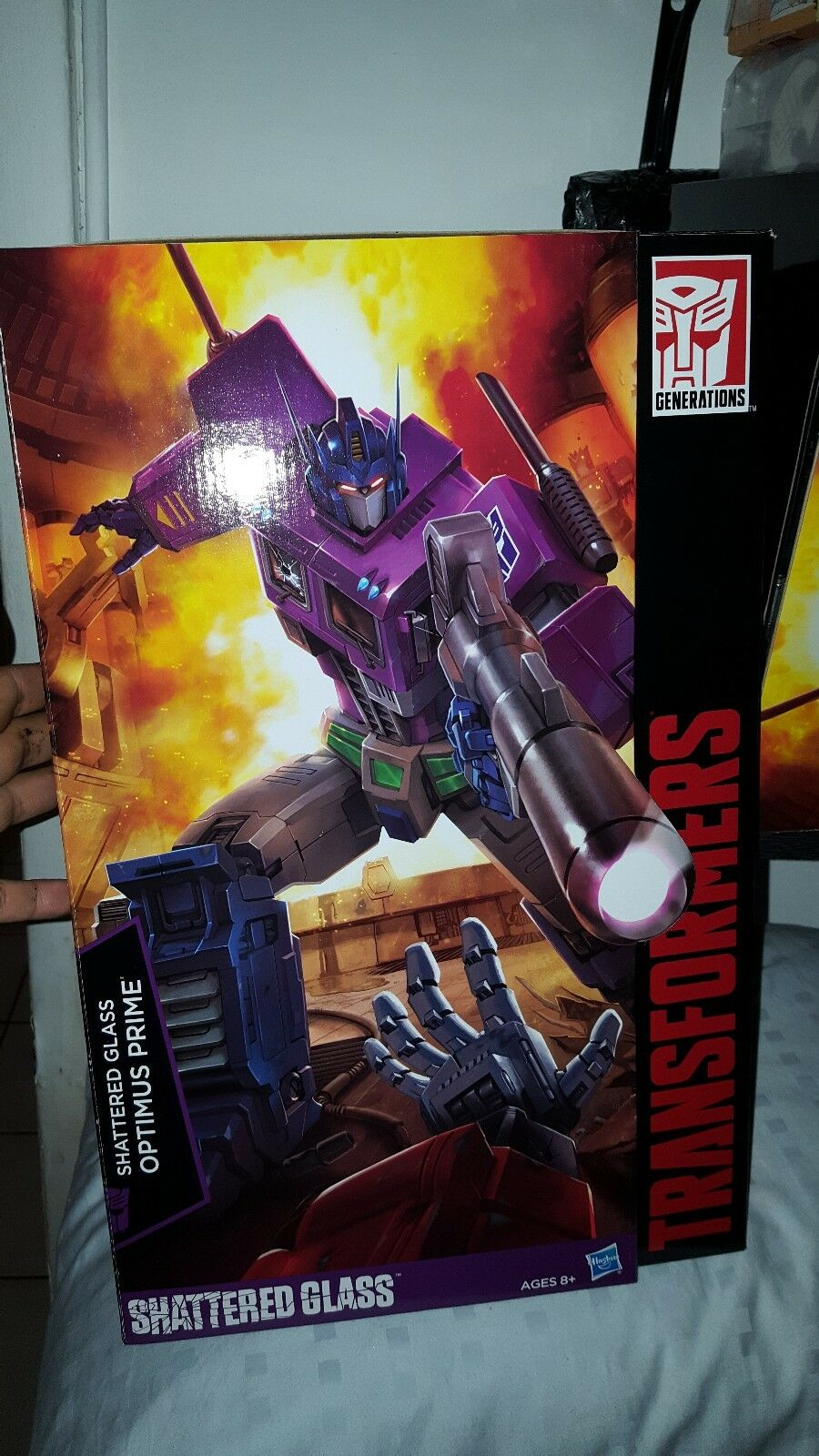 Transformers Masterpiece Shattered Glass Optimus Prime 100% Authentic