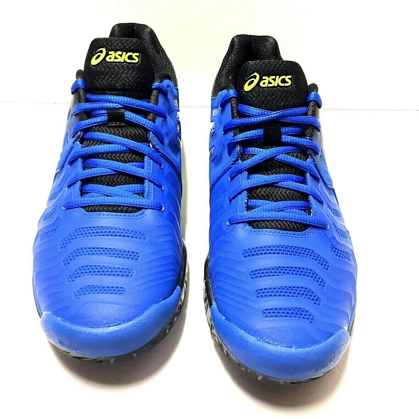 Furioso letra Circulo  ASICS Gel-resolution 7 Clay Mens E702y-9095 Black Lapis Tennis Shoes Size  12 for sale online | eBay
