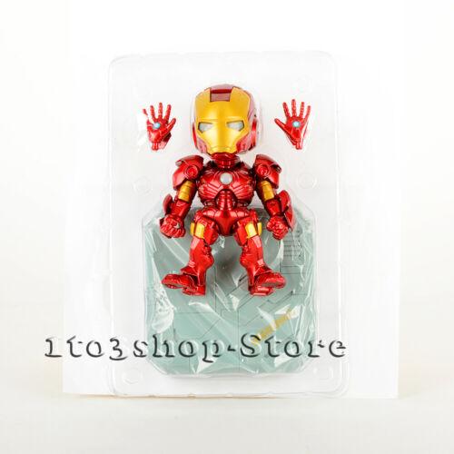 Iron Man Mark 3 Ironman MK III Toy Action Figure w//Sound Control LED Light BOX