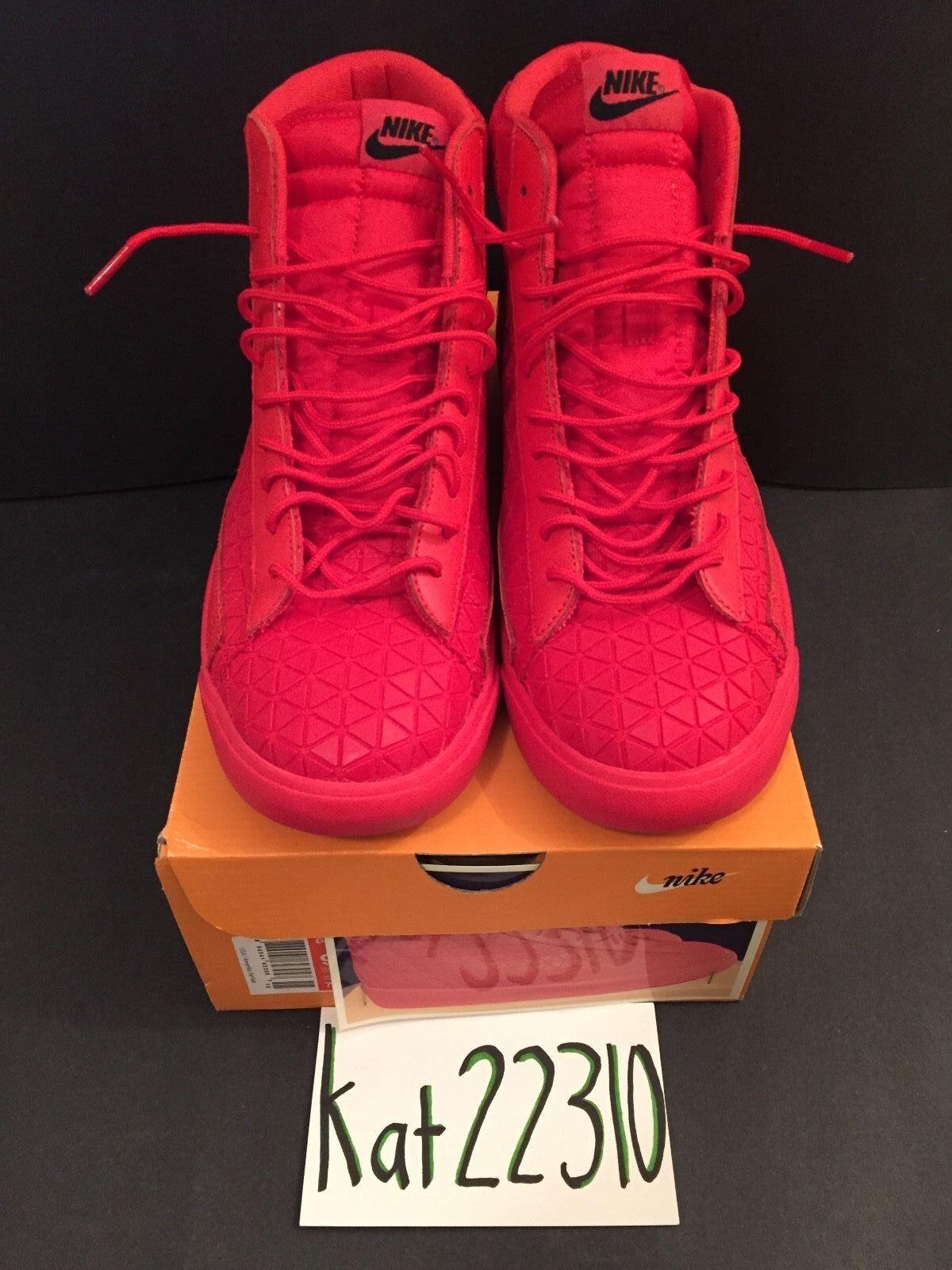 Nike blazer rosso metà metrica qs rosso blazer dimensioni 9.5 71b8d5