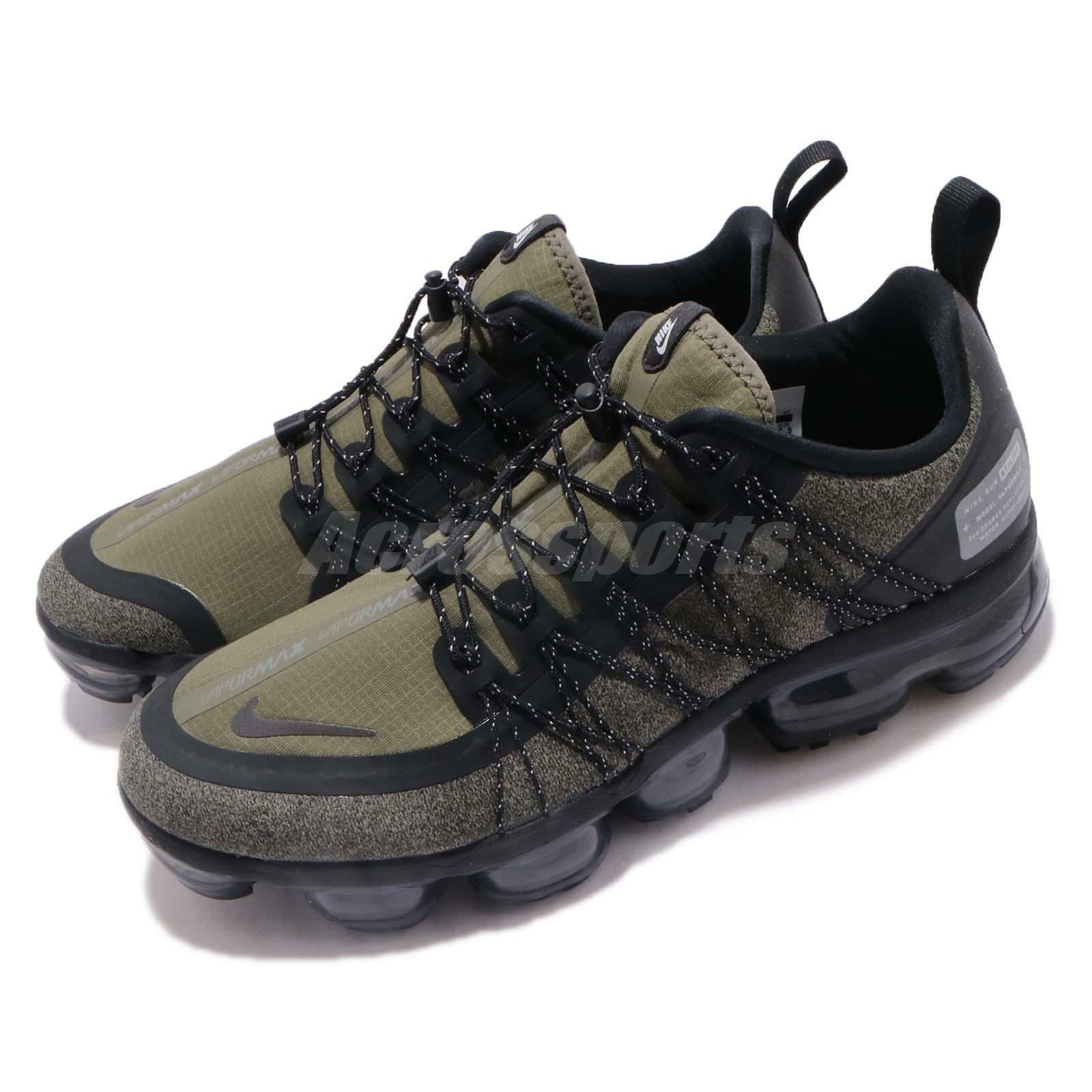 Nike Air Vapormax Run Utility Medium Olive Green Mens Running  shoes AQ8810-201  cost-effective