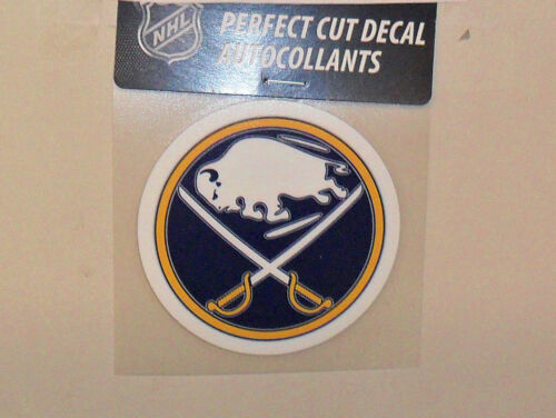 BUFFALO SABRES 4 X 4 DIE-CUT DECAL OFFICIALLY LICENSED PRODUCT