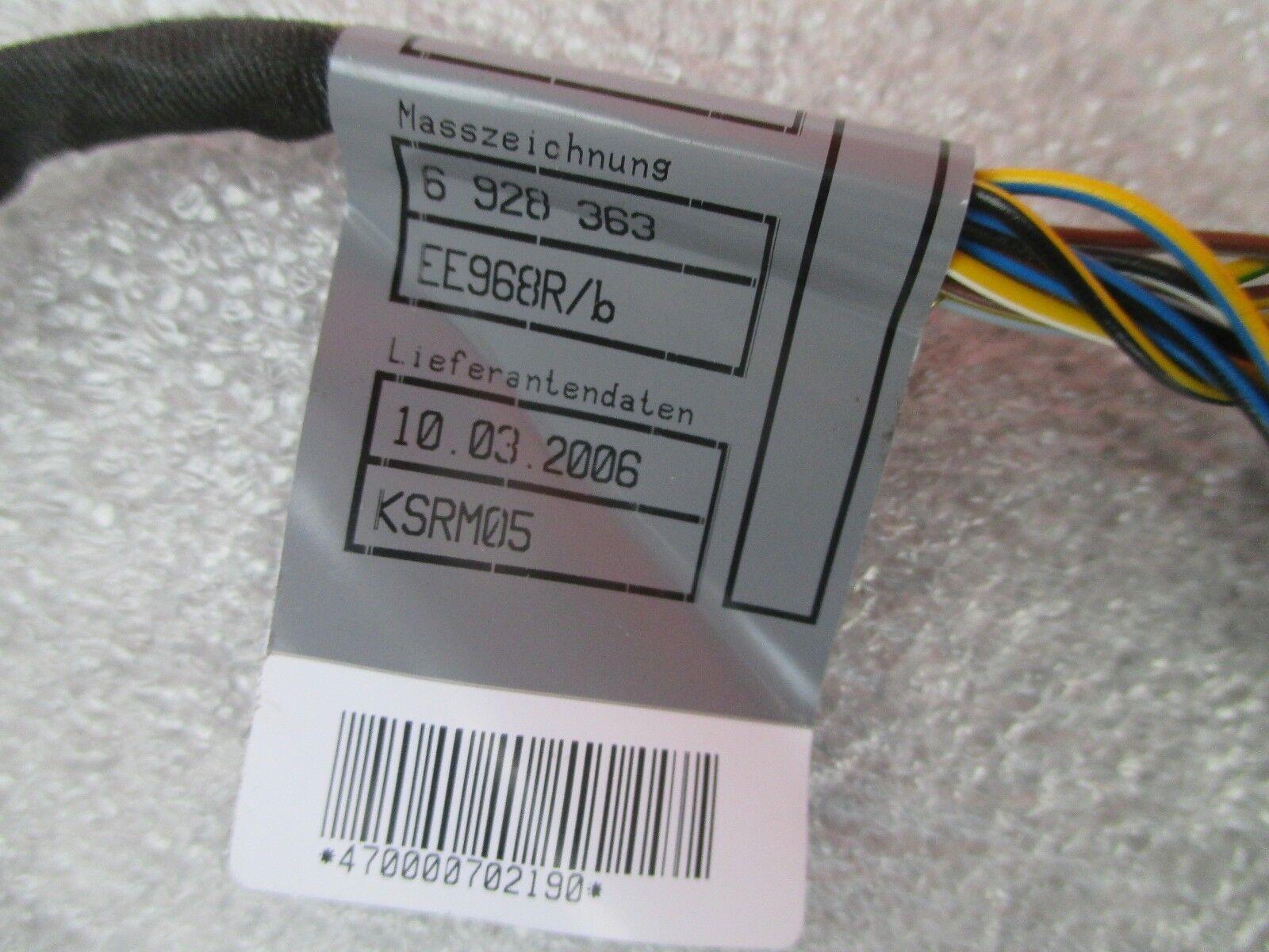 04-07 BMW M5 E60 530i 545i Rear Bumper PDC Sensor Harness Plug OEM  61126928363 | eBay