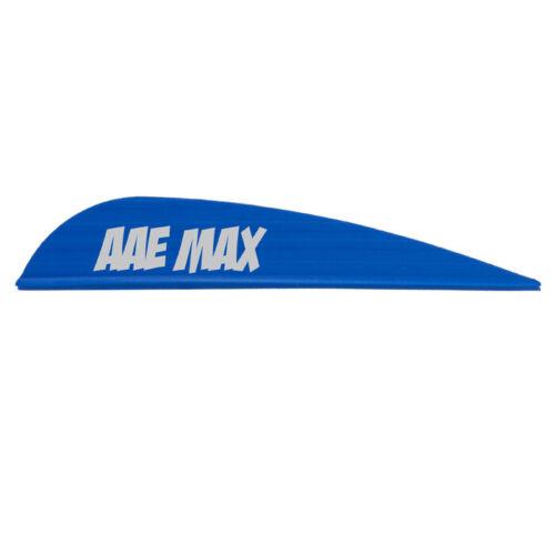 AAE Max Stealth Vane Bleu Pack de 100