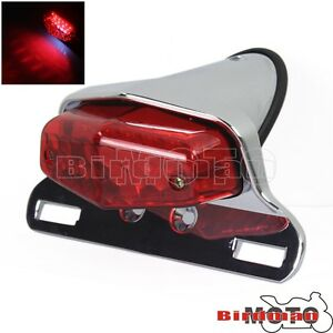 Lucas-Motorcycle12V-LED-Taillight-Rear-Tail-Light-For-Triumph-British-Cafe-Racer