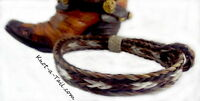 Horsehair Bracelet Great Men/womens Chestnut /white Horsehair Bracelet