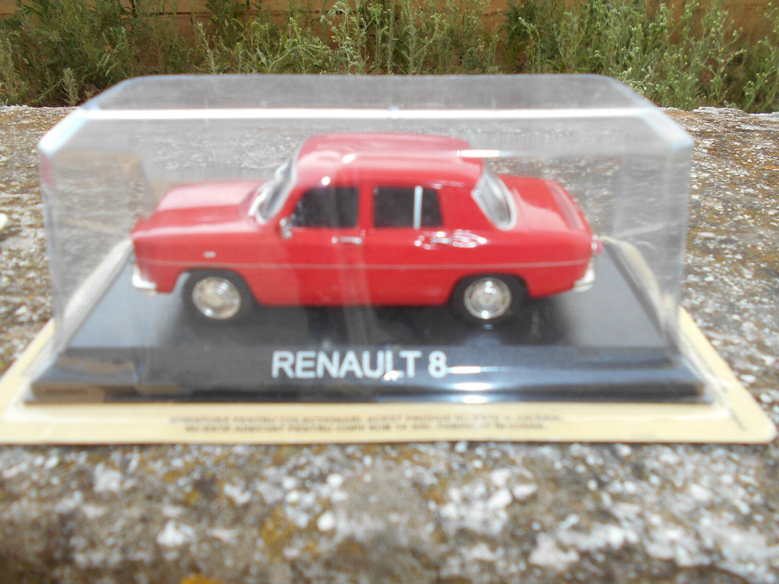 RENAULT 8  - Die cast 1 43