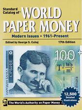 STANDARD CATALOG OF WORLD PAPER MONEY: Modern Issues 17Ed, 1961-Present 2011 PB