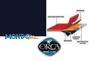 TESSUTO GOMMATO NEOPRENE/HYPALON ORCA 215 1000denari 50x50cm NERO