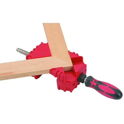 WOOD MITRE PICTURE CORNER MITER GLUING CLAMP WOODWORKING FRAMING TOOL