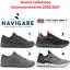 miniatuur 1 - NAVIGARE-COTTON-BELT-Sneakers-scarpe-sportive-casual-da-uomo-comode