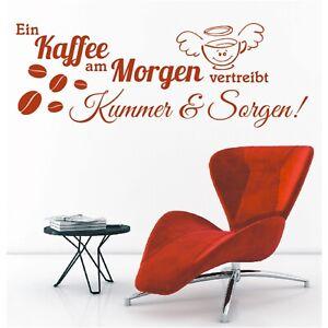 Spruch-WANDTATTOO-Ein-Kaffee-am-Morgen-vertreibt-Kummer-Wandsticker-Aufkleber