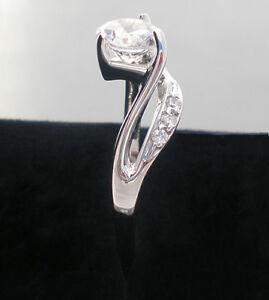 Handgefertigte-Damen-925-Sterling-Silber-6-50mm-Stein-Solitare-mit-Akzenten-Ring
