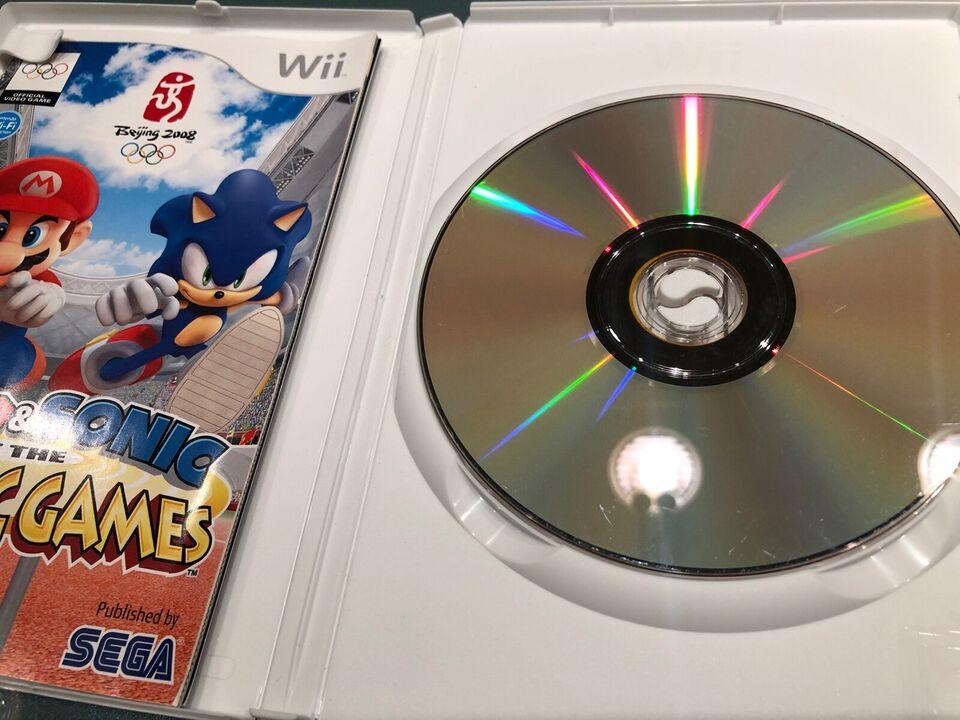 Mario & Sonic - Olympic Games, Nintendo Wii, sport