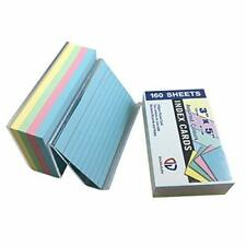 Index Cards With Holder35ruledassorted Colors160 Per Pack2 Pack