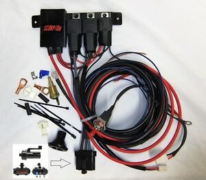 Details about LINCOLN MARK VIII or TAURUS 2 SD FAN RELAY HARNESS II on volvo airbag wiring, volvo fuse diagram, volvo 240 fuse panel, volvo transmission wiring, volvo fan relay, volvo starter, volvo wiring diagrams,