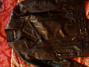 ef5c4b2cc179 Image is loading Dolce-gabbana-leather-jacket-leather-jacket-yves-saint-