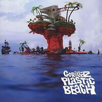 GORILLAZ PLASTIC BEACH NEW SEALED DOUBLE VINYL LP REISSUE IN STOCK