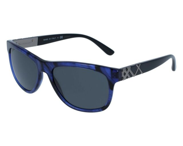 c10d2908449d New Authentic BURBERRY Sunglasses B4234 362687 Blue Havana   Gray Italy 57mm