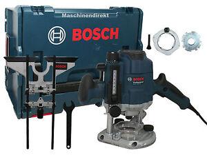 bosch fresatrice superiore gof 1250 ce professional gof1250ce parallelo attentato ebay. Black Bedroom Furniture Sets. Home Design Ideas