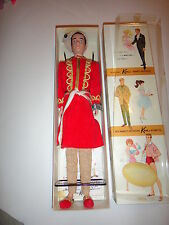 VHTF VINTAGE BARBIE KEN ARABIAN KNIGHTS DRESSED BOX DOLL WRIST TAG-NRFB-INSERT