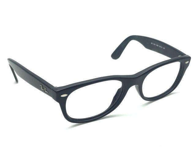 8a573235238eb0 Ray-Ban RB 5184 5583 Navy Blue Wayfarer Square Eyeglasses Frames 52-18 145