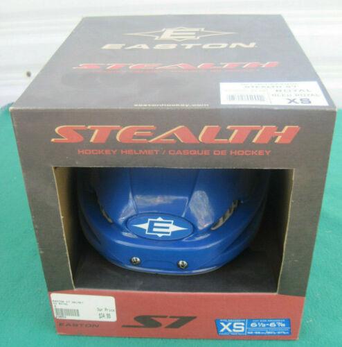 Easton Stealth S7 Hockey Helmet Size XS Head Size 6 1//2-6 7//8 Blue new In Box