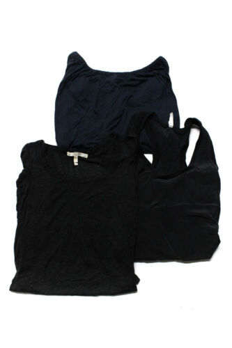 Joie Womens Tank Top Blouses Black Grey Size Small Extra Small Lot 3