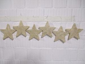 6 Sterne Weihnachten Fensterdeko Stern Weihnachtsdeko Floristik