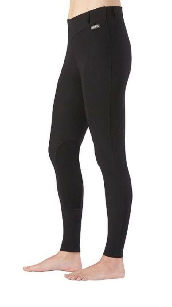 Kerrits Women's Microcord Knee Patch Riding Breeches Gripstretch Suede
