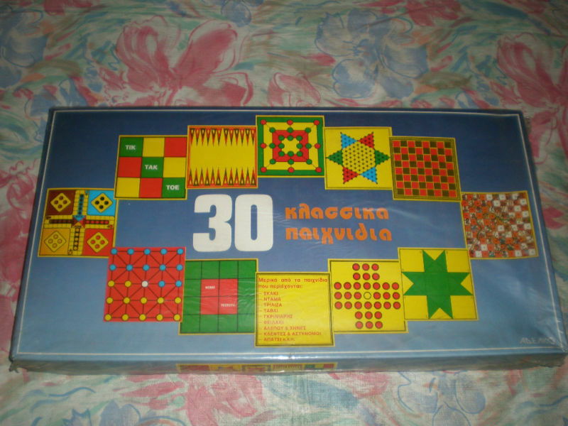 Vintage Greek tavolagioco 30 classeeIC giocoS ADELKO 80's   distribuzione globale