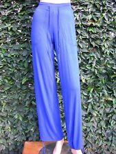 Pantalon de danse TEMPS DANSE PP 112, en viscose -BLEU pacific - taille L