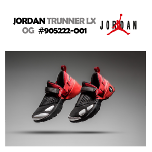 0f1c311057a Nike Air Jordan Trunner LX OG Bred 905222-001 Red Black White Men s ...