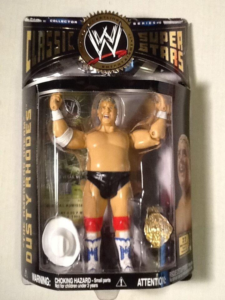 Dusty Rhodes WWE Classic SuperSterns 2006 serie 10 Jakks FREE SHIPPING NEW