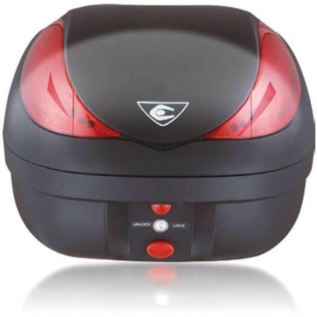 Bauletto Wizard Luxury V36L Negro Placa Control Remoto Antirrobo Stop para LED