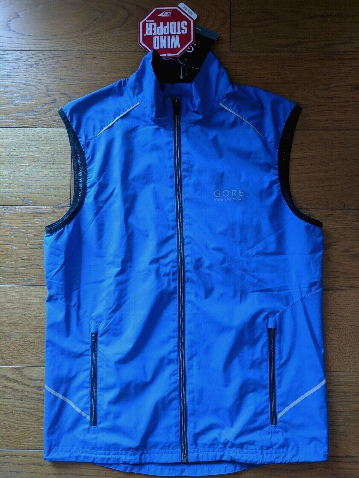 GORE RUNNING WEAR gilet gilet gilet corsa uomo giacca antivento windstopper Uomo jacket 89b18e