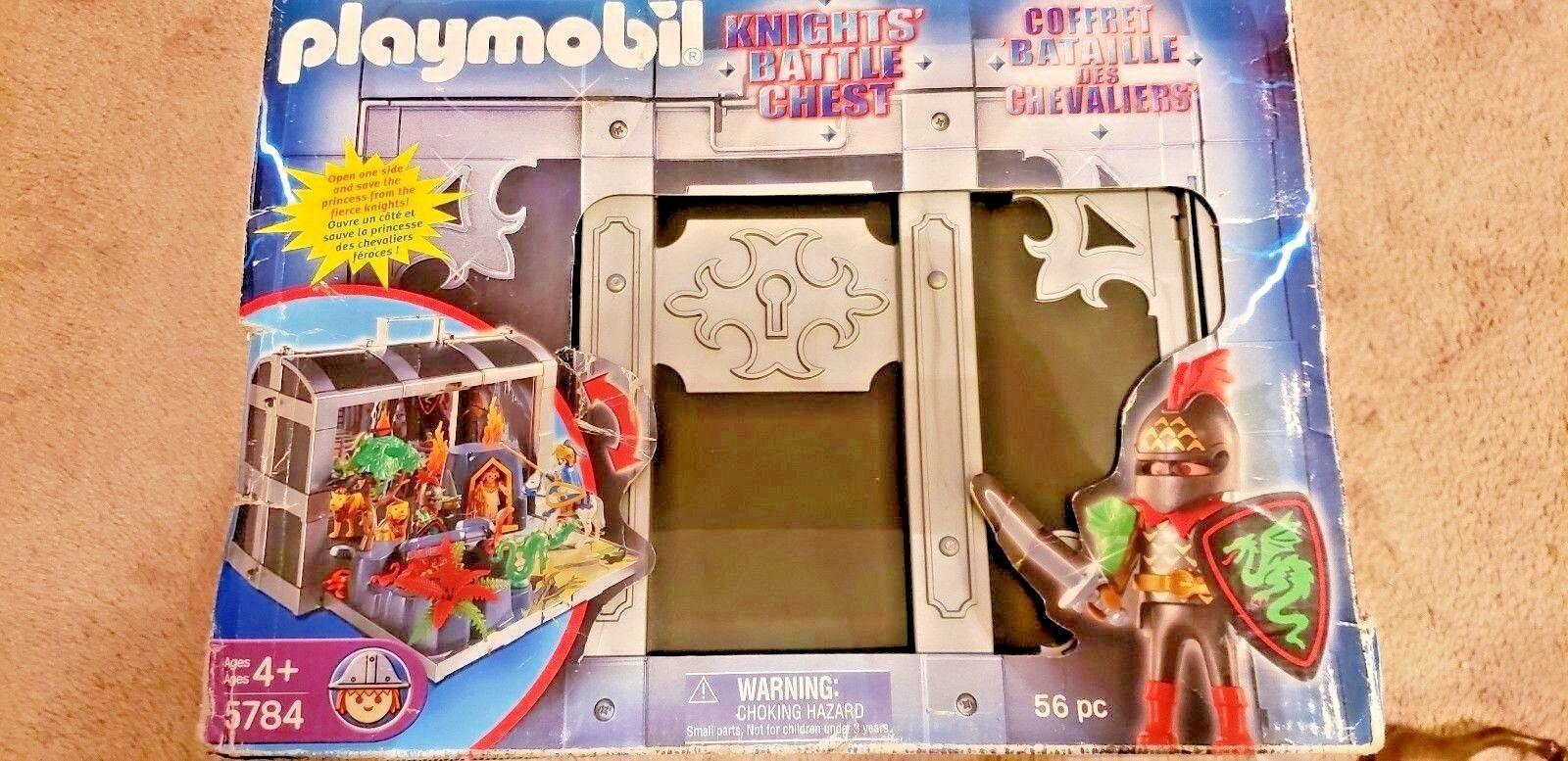 Playmobil Knights Battle Chest Set 5784