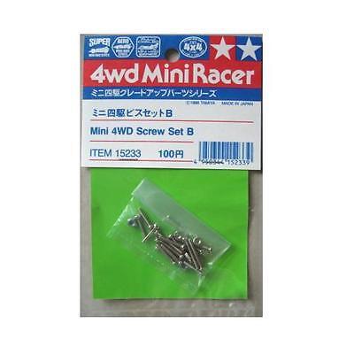 Mini 4wd SCREW SET B Set Viti Tamiya 15233 New Nuovo