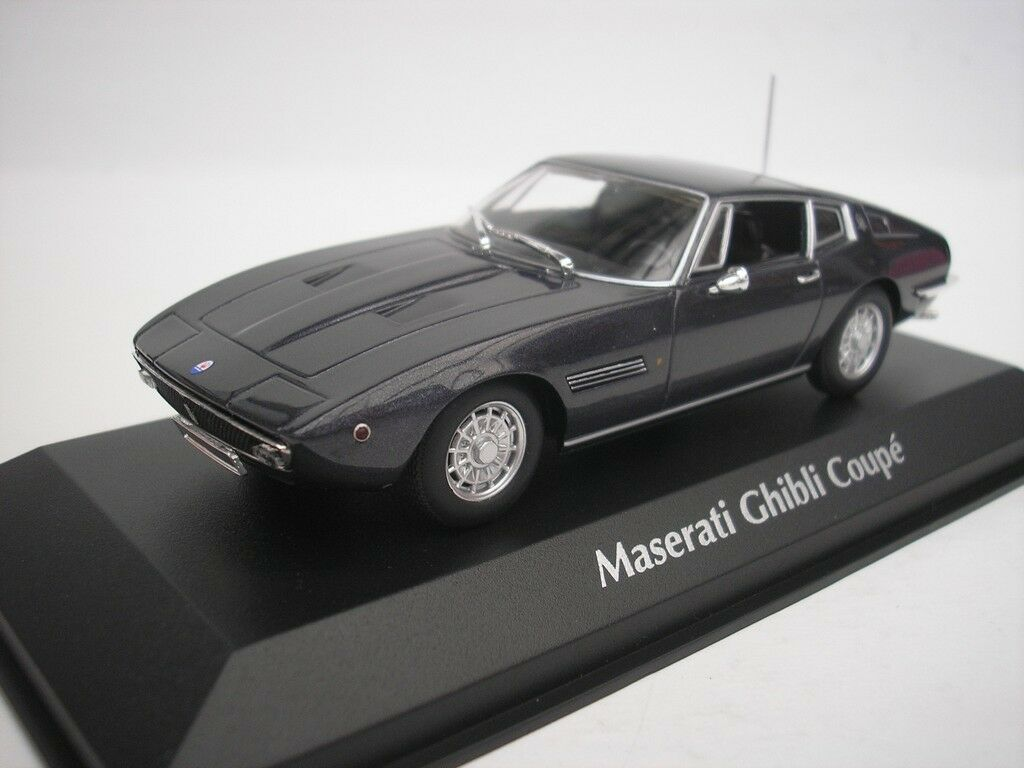 MASERATI GHIBLI COUPE 1969 brown METALLIC 1 43 MAXICHAMPS 940123320 NEU