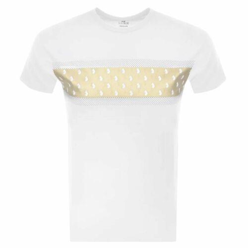 Luke 1977 Luke Golden portefeuille T-shirt imprimé blanc M550110