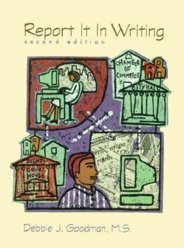 NEW - Report It in Writing (2nd Edition) by Goodman, Debbie