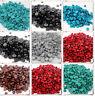 100pcs Acrylic Half Round Rhinestone Beads Nail Art  DIY Crafts  Embellishments