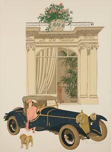 Original-Vintage-Poster-NOYER-Denis-Paul-Le-Pre-Catelan-Paris-1979