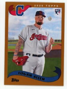2002-Topps-251-LOGAN-ALLEN-Cleveland-Indians-ROOKIE-CARD-RC-2020-Archives